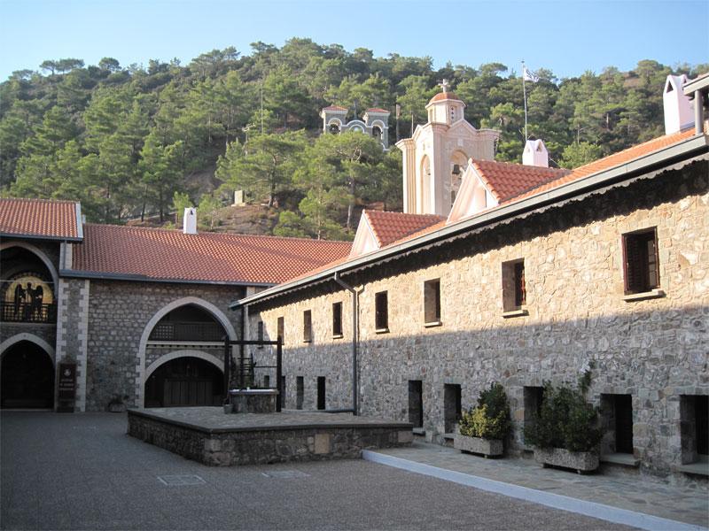 Владения монастыря Киккос занимают обширную территорию