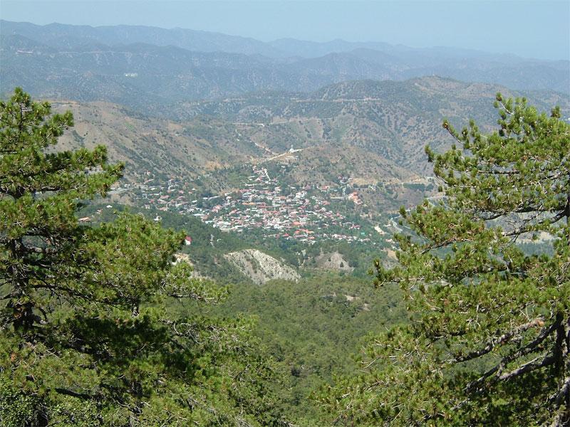 В горах Троодос можно найти очень много живописных деревень