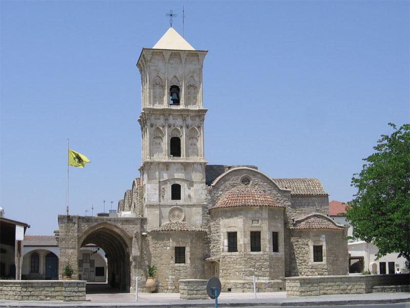 Церковь Святого Лазаря - один из трех сохранившихся на Кипре храмов византийского периода
