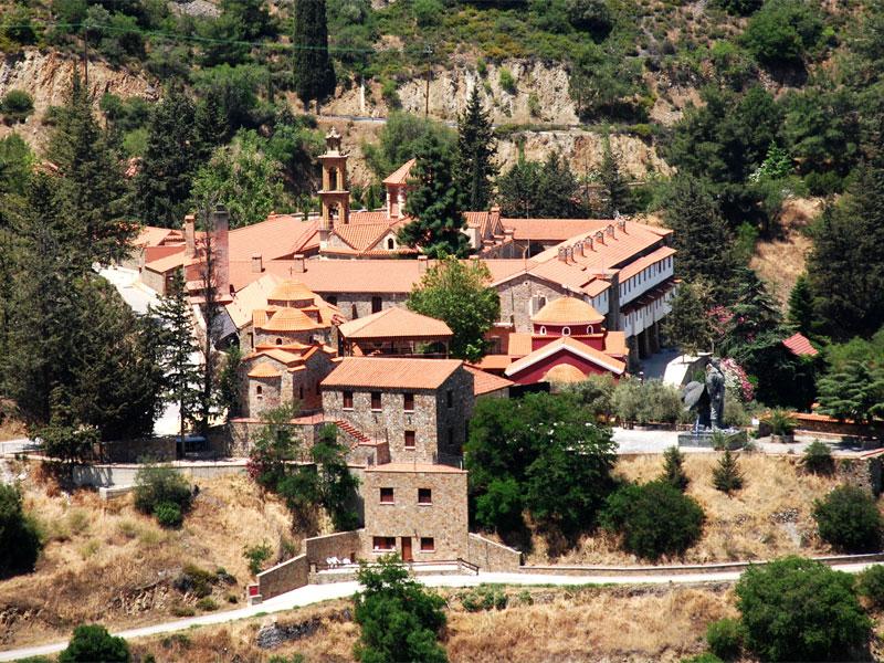 Монастырь Махера является памятником византийского архитектурного стиля
