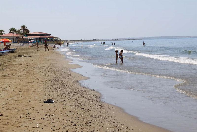 Пляж Курион / Curium Beach