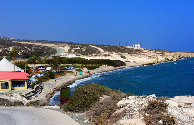 Пляж Аламанос / Alamanos Beach