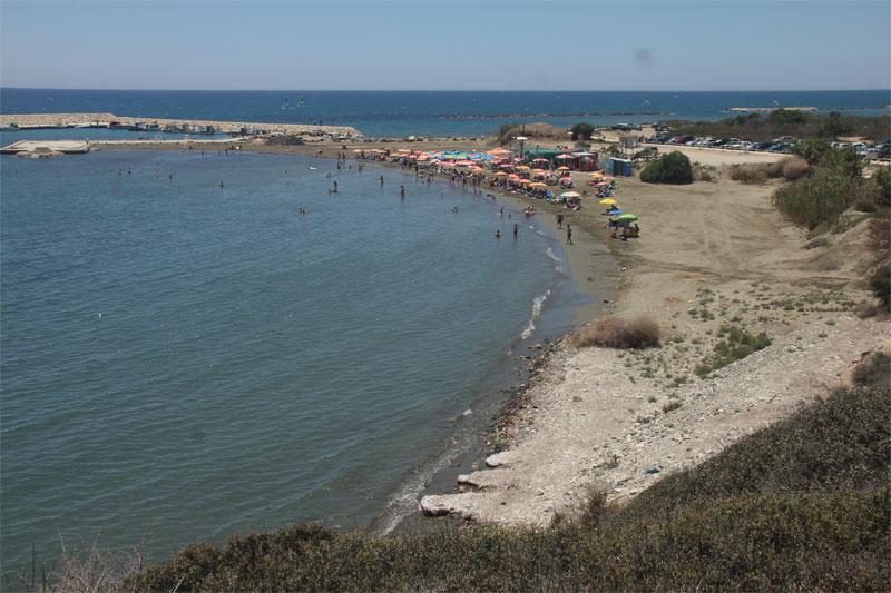 Пляж Аламинос / Alaminos Beach