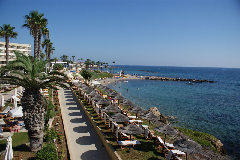 Пляж Аликес / Alykes Beach