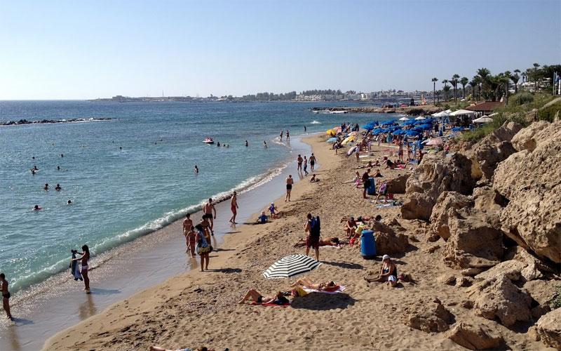 Пляж Врисудья A / Vrysoudia A Beach