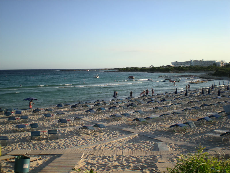 Пляж Ланда / Landa Beach