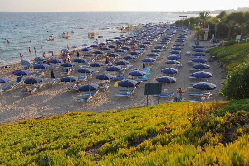 Пляж Глики Неро / Gliki Nero Beach