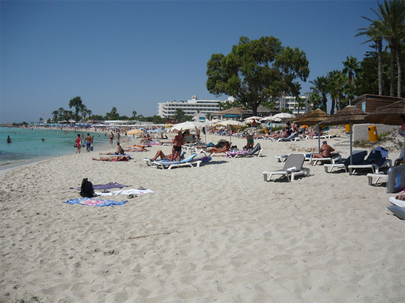 Пляж Нисси Бич / Nissi Beach