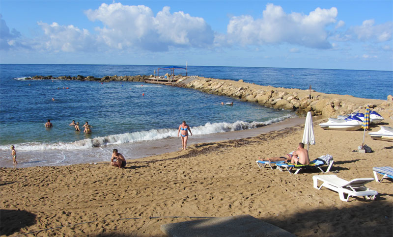 Пляж Пахиаммос 2 / Pachyammos 2 Beach