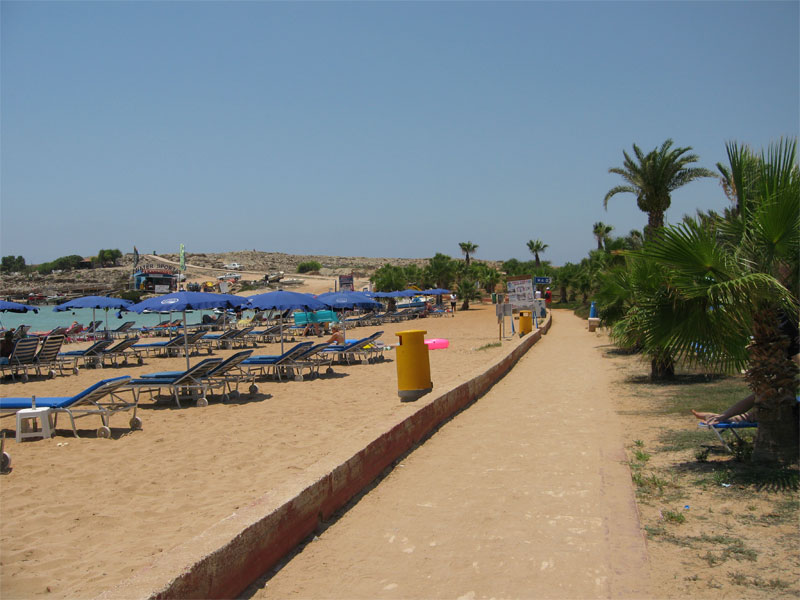 Пляж Пернера A / Pernera-A Beach