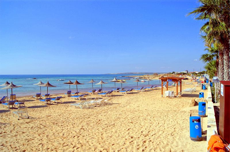 Пляж Айя Фекла / Ayia Thekla Beach