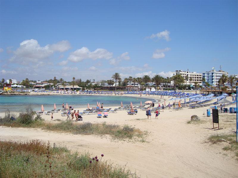 Пляж Вафья Гония / Vathia Gonia Beach