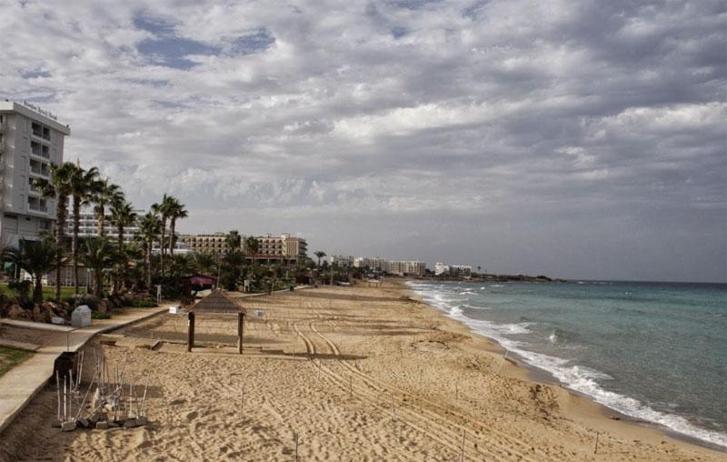 Пляж Вриси A / Vrisi A Beach