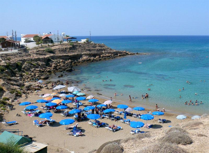 Пляж Каппарис / Kapparis Beach